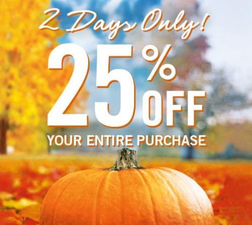Bath & Body Works 25% Off Coupon