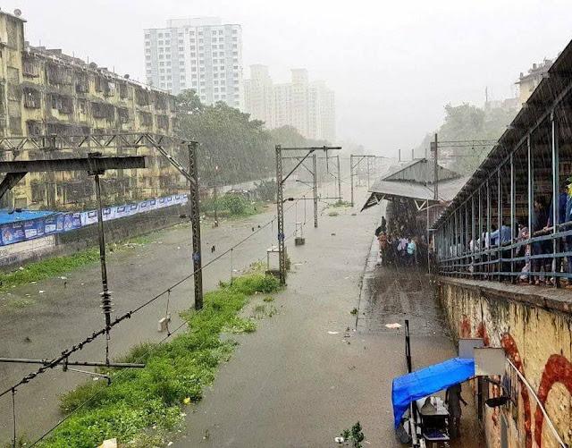 Mumbai Heavy Rain मुंबईतील पाऊस