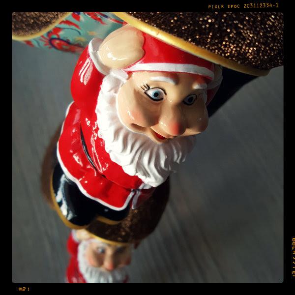 wearing irregular choice santa's ninth heel detail
