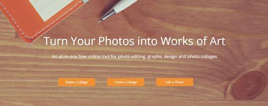 موقع مجاني لتحرير الصور و انشاء شعار وغلاف فايسبوك و صور3d
