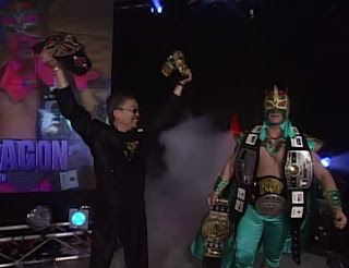 WCW Starrcade 1996 Review - Ultimo Dragon defended WCW Cruiserweight title and NJPW J-Crown against Dean Malenko