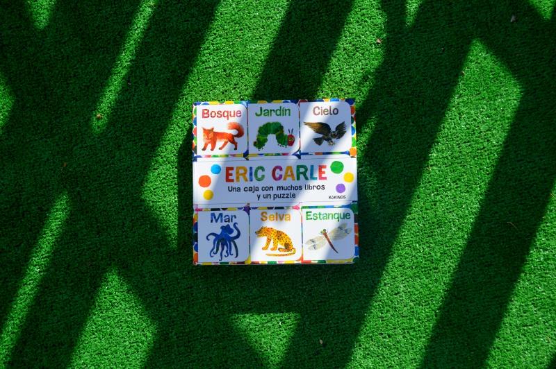 Libros bebes puzzle eric Carle leer cuentos