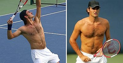 Image result for federer shirtless