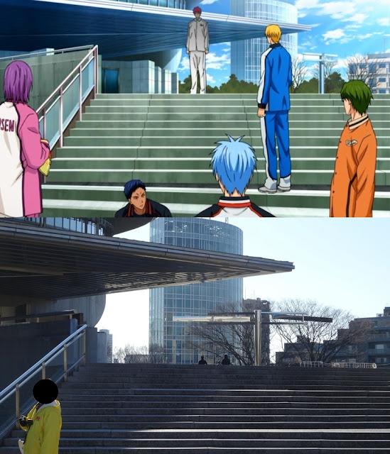 Tokyo Gymnasium and Kuroko