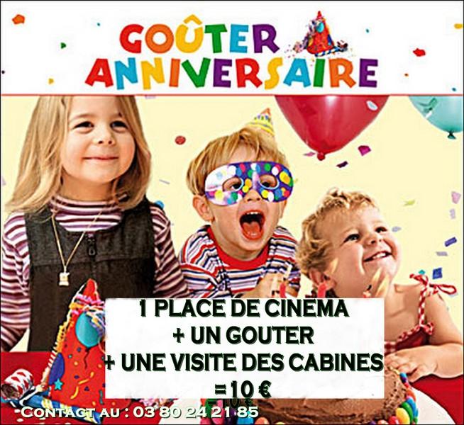 anniversaire cap cinema