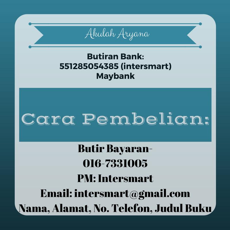beli novel Akulah Aryana Online