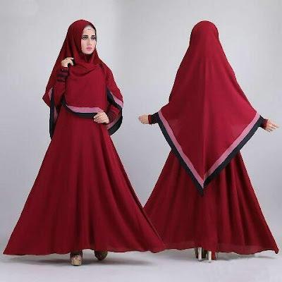 Jual Plus Jilbab / Kerudung 2 In 1 Zena Hijab - 12307