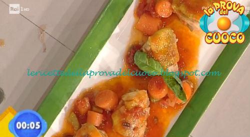 Pollo brasato con olive di Gaeta ricetta Latagliata da Prova del Cuoco