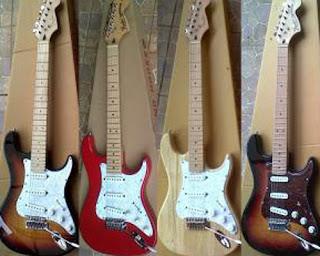 cara bermain gitar listrik
