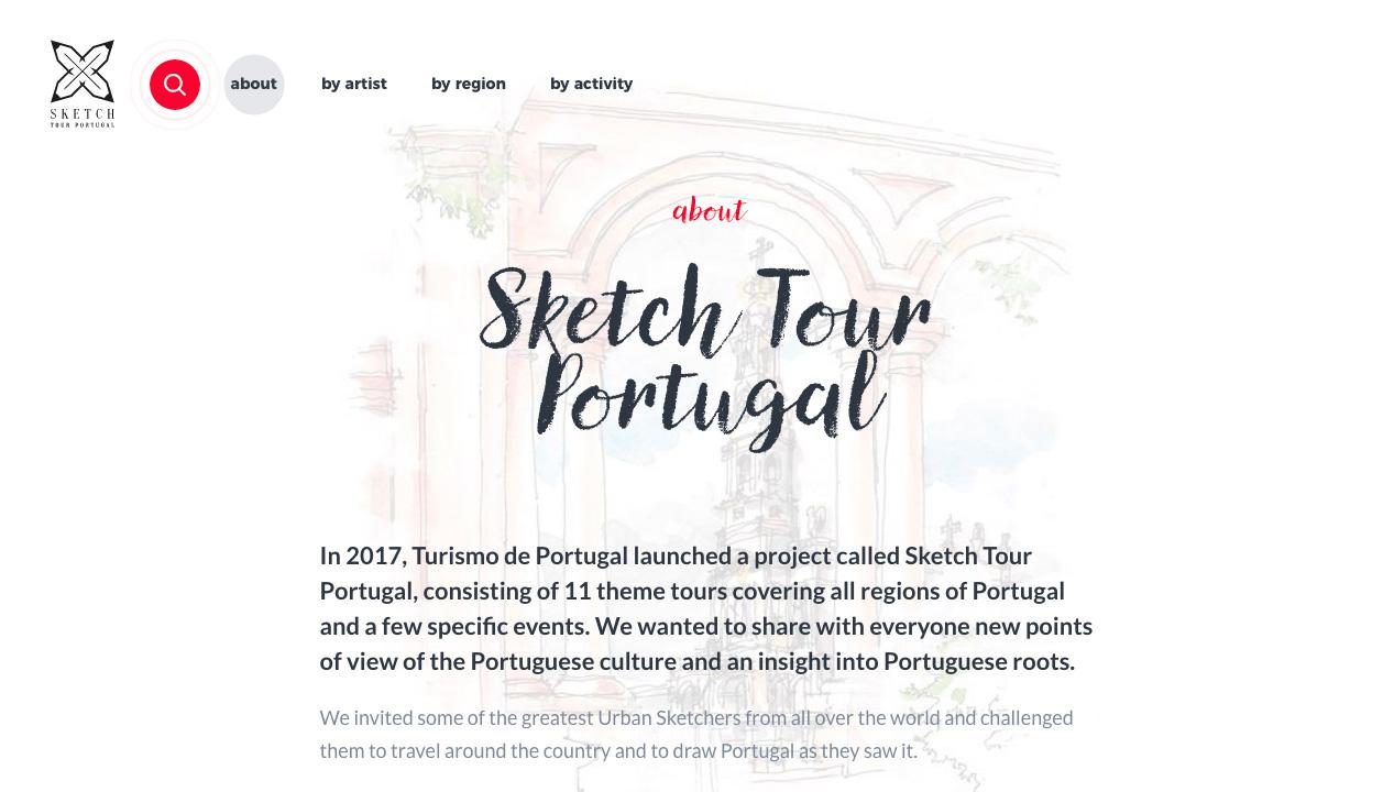 Sketch Tour Portugal   Urban Sketchers