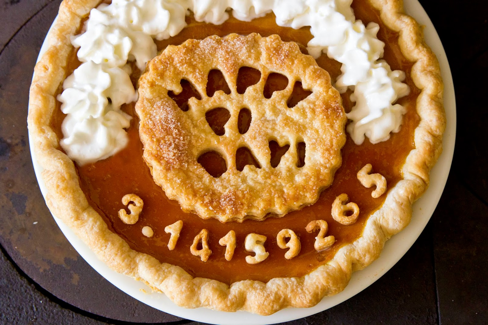 My Take On Pi Would Be To Celebrate Pi Day With Pie!
