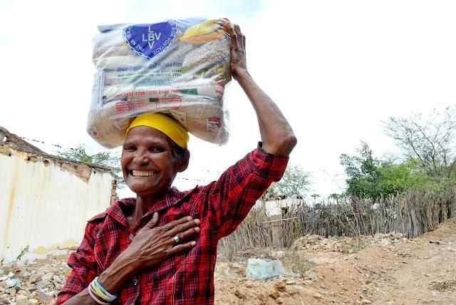 Campanha de Natal da LBV beneficia milhares de famílias pernambucanas