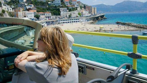 Passeio de ônibus turístico em Marselha