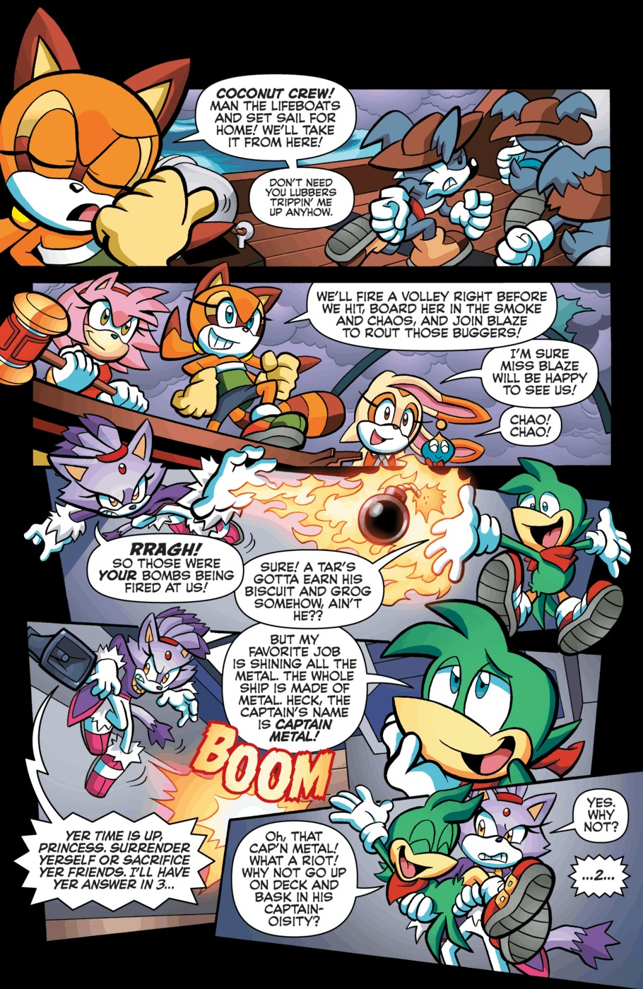 Read online Sonic Universe comic -  Issue #55 - 16