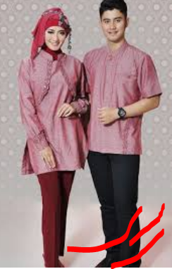 busana muslim couple modern