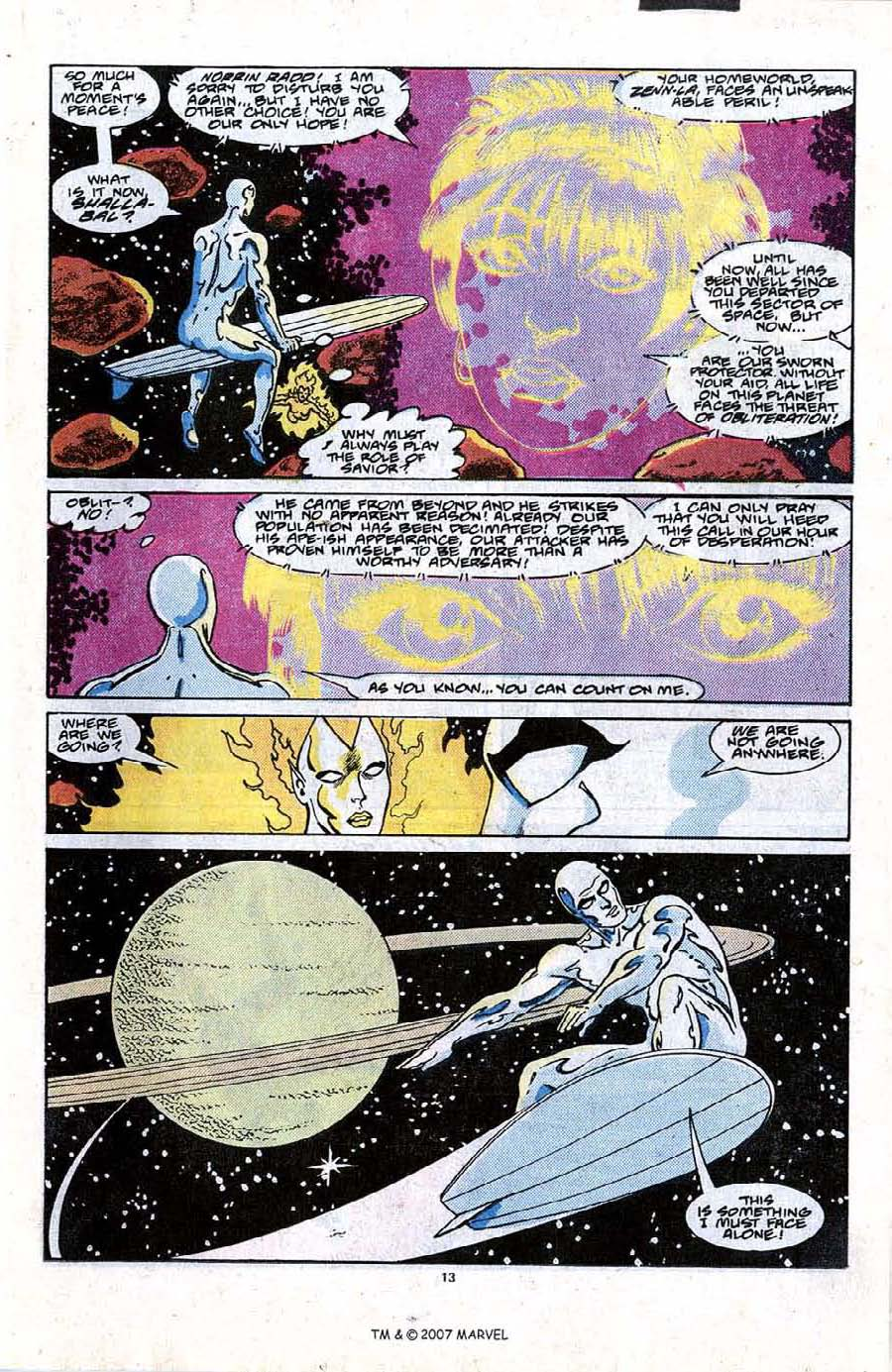 Read online Silver Surfer (1987) comic -  Issue #21 - 15