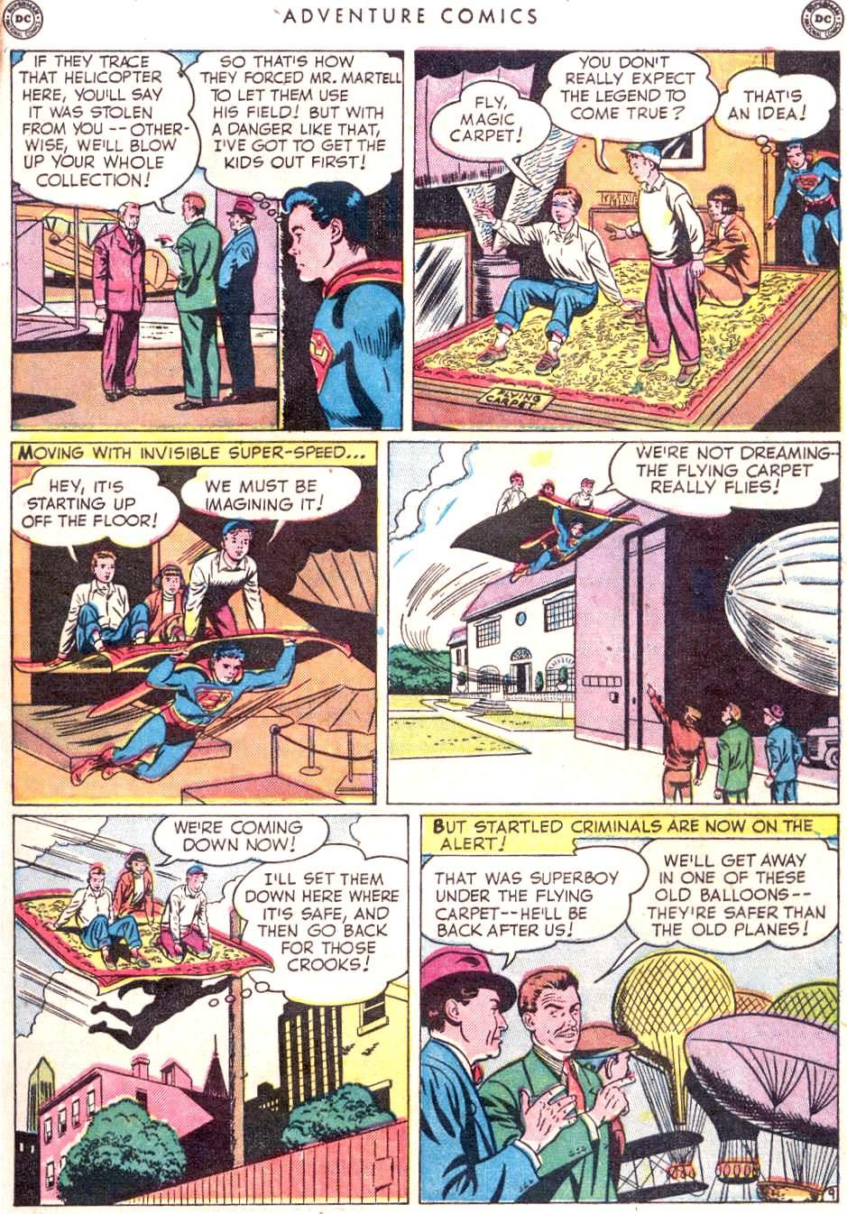 Read online Adventure Comics (1938) comic -  Issue #156 - 11