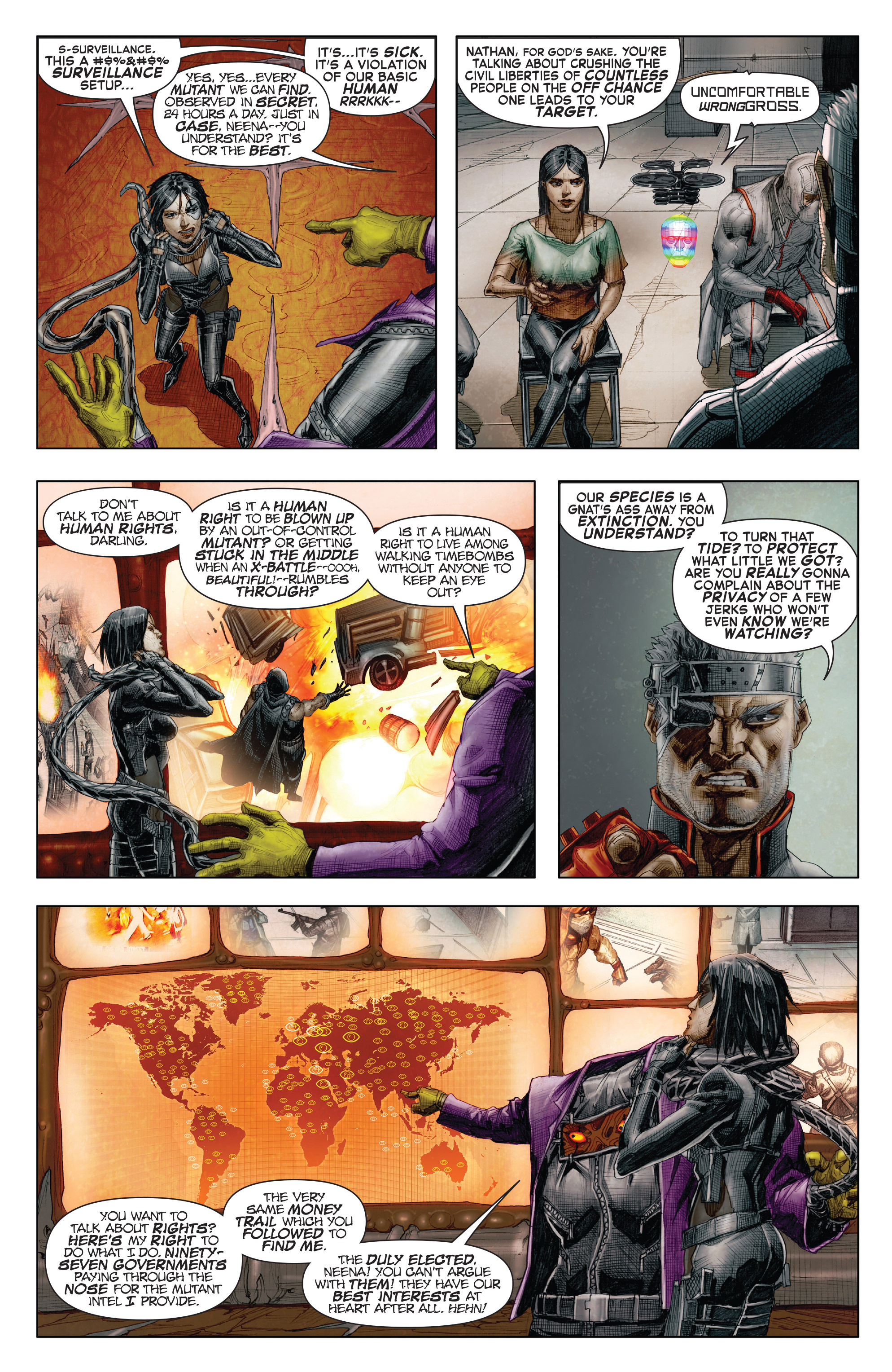 Read online X-Force (2014) comic -  Issue #7 - 16