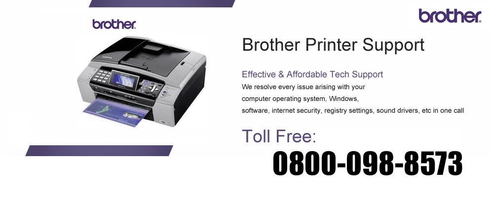 Printer helpline service uk for Brother support