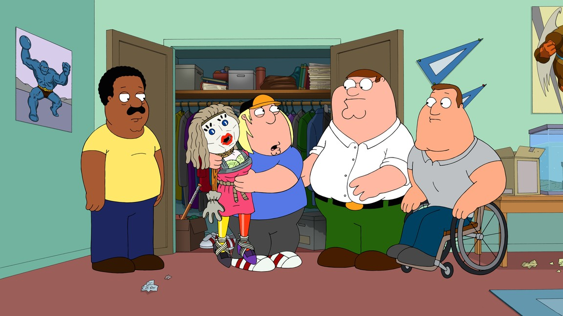 Family Guy - Season 13 Episode 11: Encyclopedia Griffin