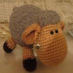 patron gratis oveja amigurumi | free pattern amigurumi sheep