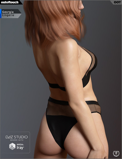 Georgia Lingerie for Genesis 3 Female