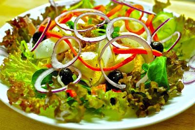 ensalada de verdura