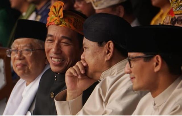Timses Prabowo 94 Jurkam, Timses Jokowi Capai 5000-an: Seperti Daud vs Goliath