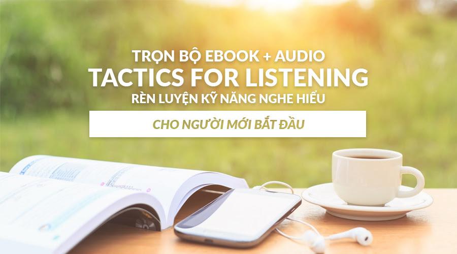 Chia sẻ miễn phí bộ ebook + audio luyện nghe từ TOPICA Native