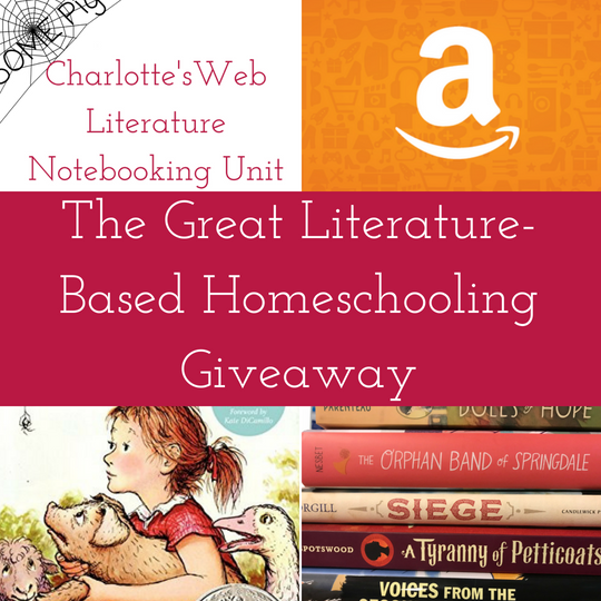 Literature-based homeschooling giveaway