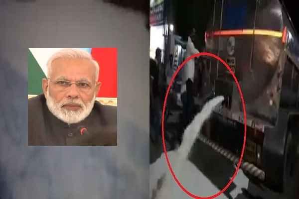 MODI-BJP ने इतना बैर हो गया है, कहीं गाय काट दे रहे हैं, कहीं दूध बर्बाद कर रहे हैं लोग
