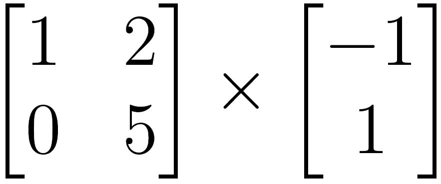 Multiplicação de matrizes válida