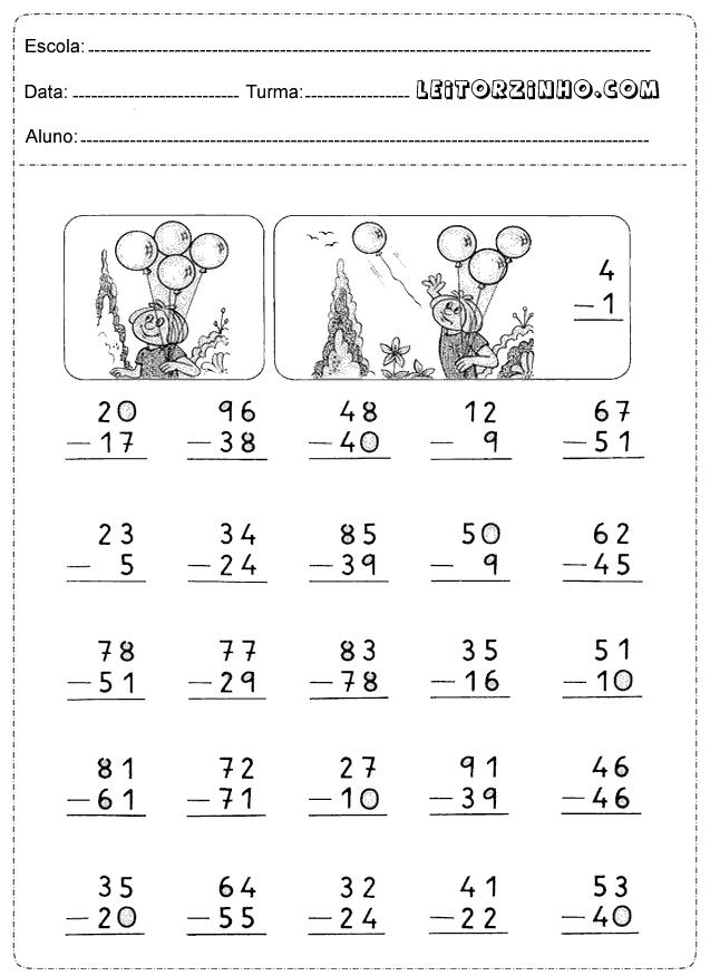 Problemas Matematicos Exercicios De Matematica 3 Ano Ensino Fundamental Para Imprimir Compartilhar Ensino