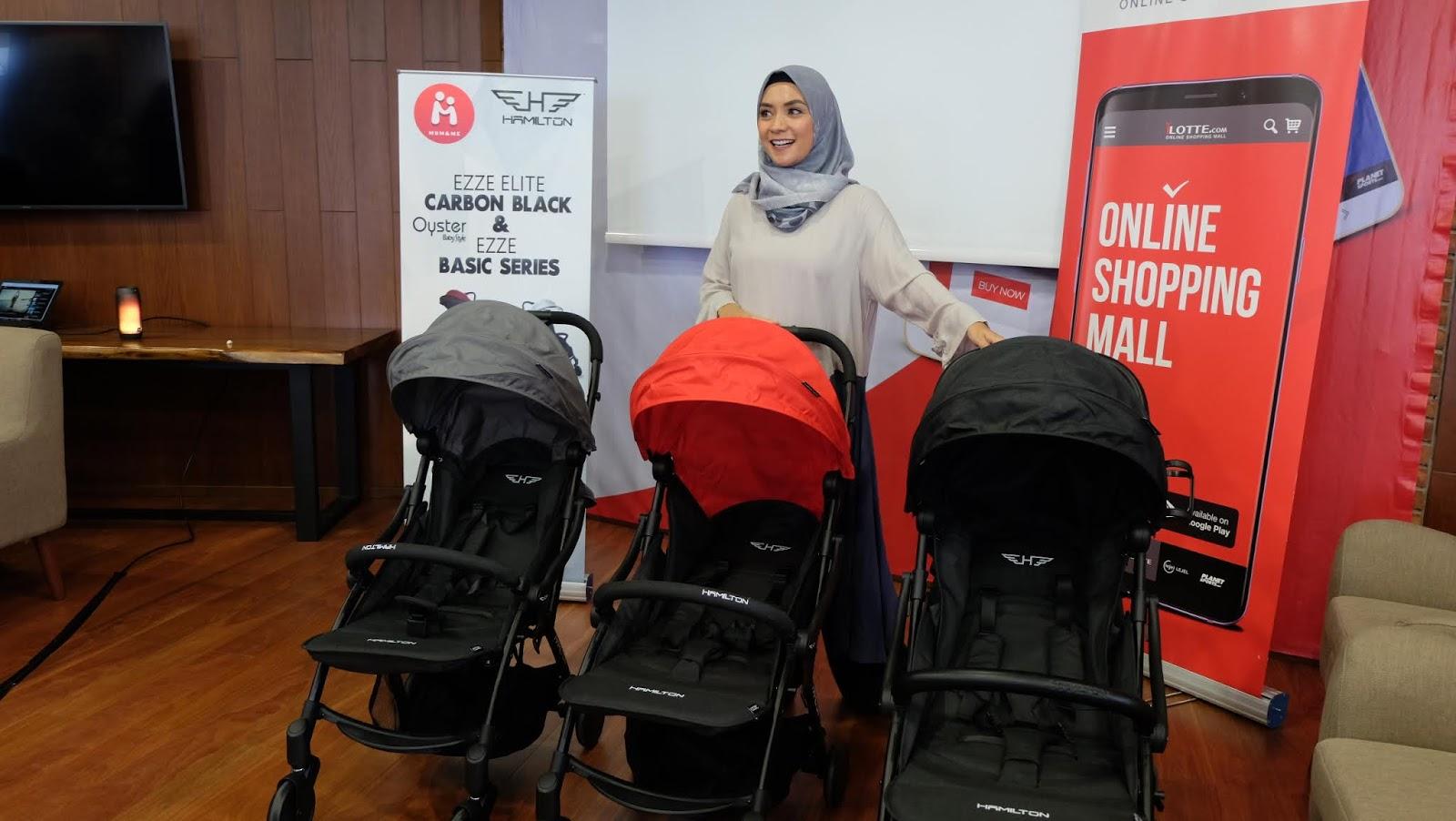 Travelling Mudah Bersama Bayi dengan Hamilton Ezze Series ...