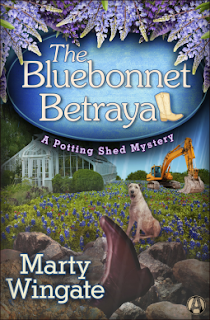 The Bluebonnet Betrayal  cover
