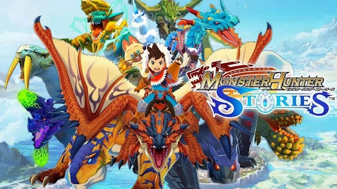 ANDROID Monster Hunter Stories APK+OBB ATUALIZADO