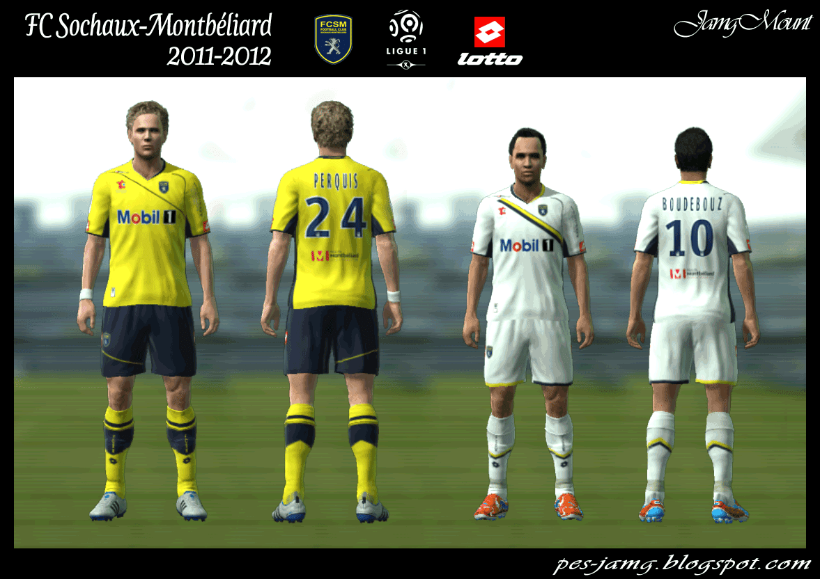 kits by jamgmount fc sochaux montb liard 2011 2012. Black Bedroom Furniture Sets. Home Design Ideas