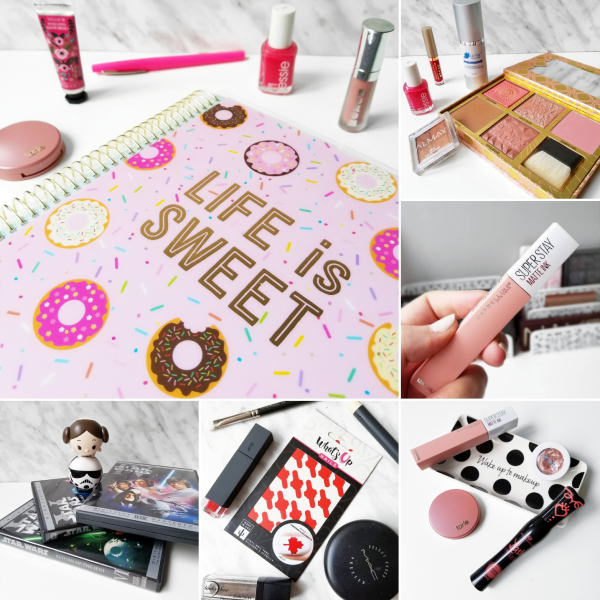 bbloggers, bbloggerca, beauty blog, instamonth, instagram, round up, lifestyle, canadian blogger, national donut day, recollections planner, may faves, le fair skin, serum, stila, benefit, maybelline, superstay matte ink, loyalist, lip smacker, lipsmacker, lip smackers, star wars, princess leia, storm trooper, lip balm, what's up nails, canada flag vinyls, nail polish canada, essence mascara