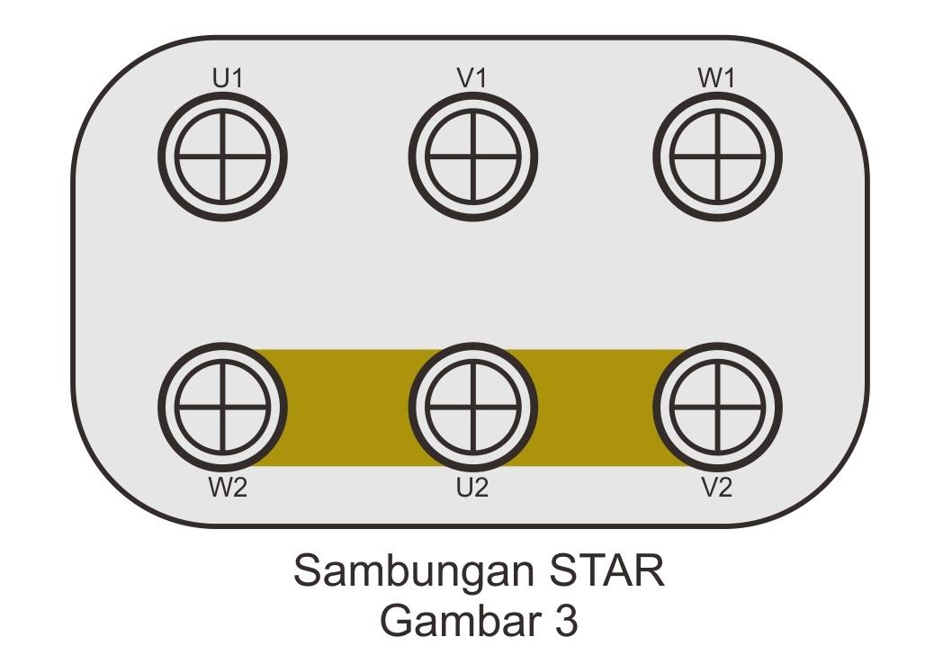 Mengenal Koneksi Star Delta Motor Listrik 3 Pasha