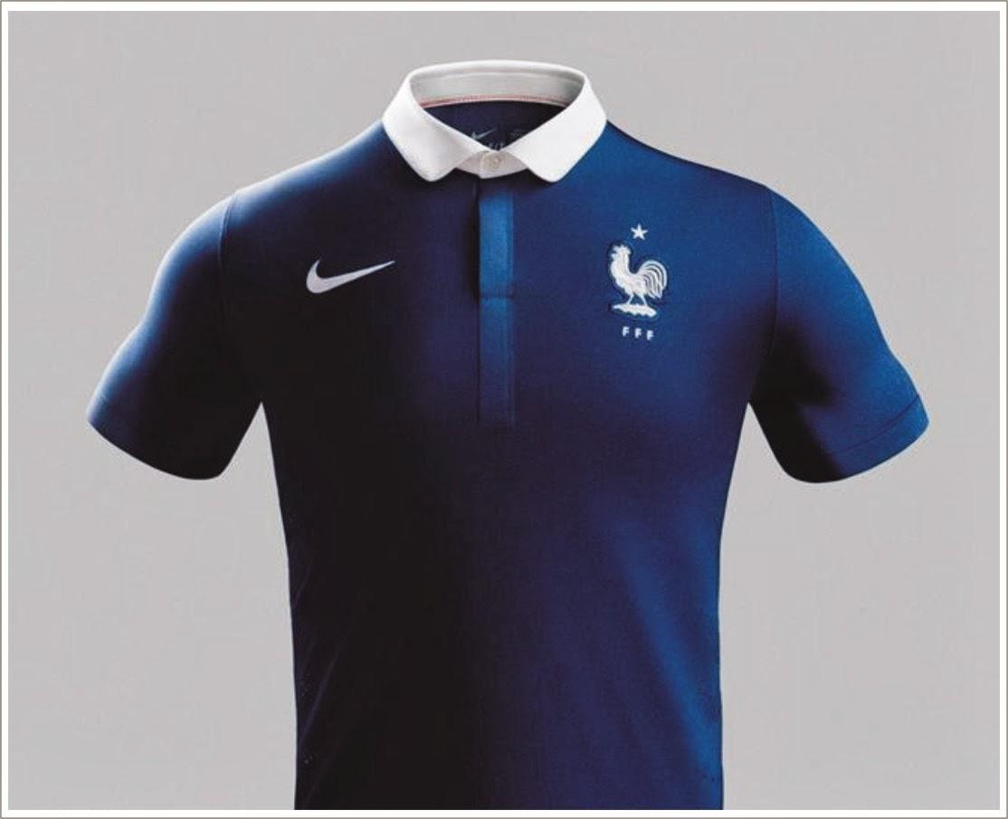 LA PELOTA NO DOBLA  Nueva camiseta Francia 2014. 652b53c3e6c48