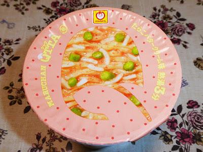 【マルちゃん(東洋水産)】MARUCHAN QTTA(クッタ)たらこバタークリーム味