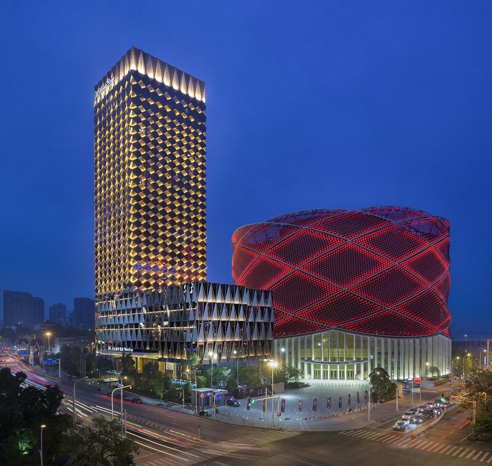 Wanda Reign Wuhan Exterior, Wanda Hotels & Resorts