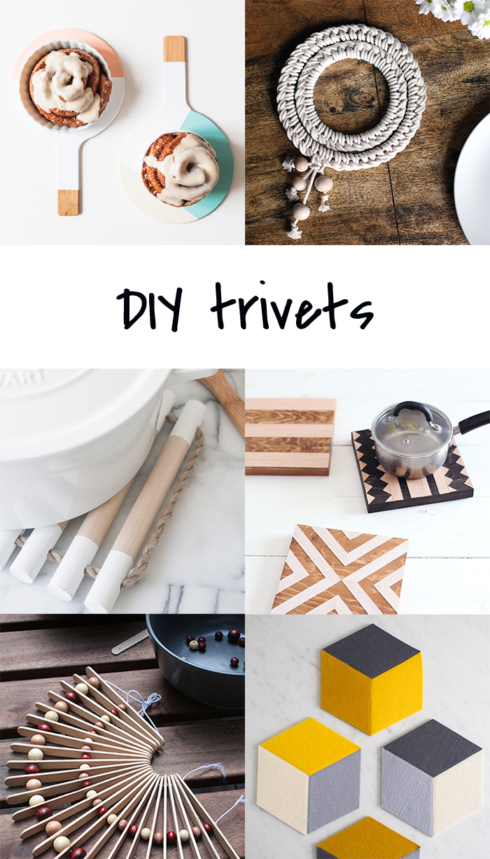 7 DIY to try # trivets