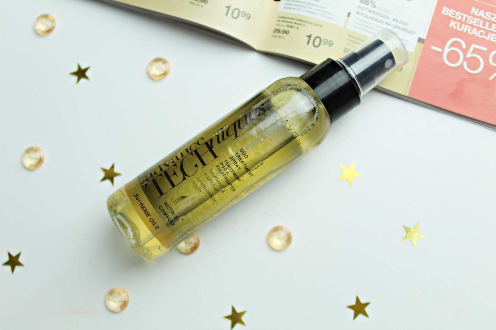 Luksusowy odżywczy spray do włosów Nutri5 Avon