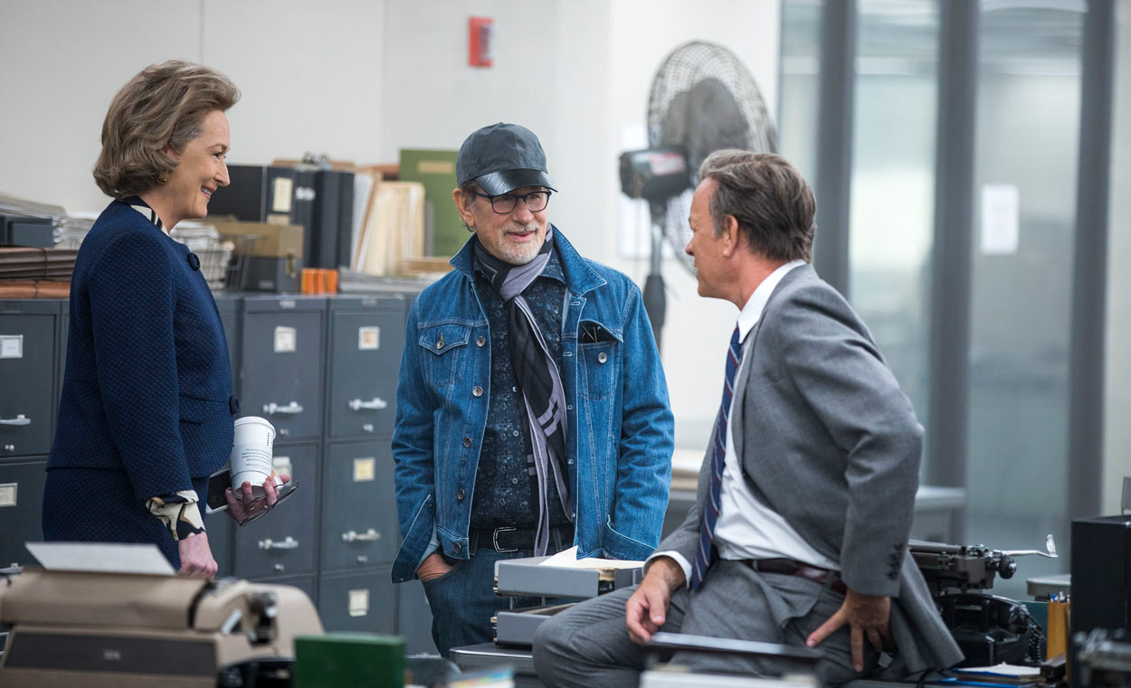 LOS ARCHIVOS DEL PENTÁGONO - Steven Spielberg, Tom Hanks y Meryl Streep