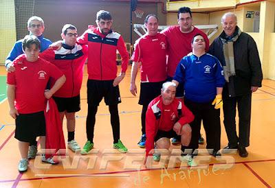 Fútbol-sala discapacidad Aranjuez Vicente Del Bosque
