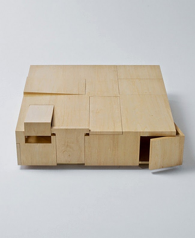 Secret Spaces in Table