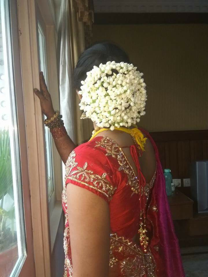 Gorgeous South Indian Wedding Bridal Hairstyles Whatsapp Image Hd