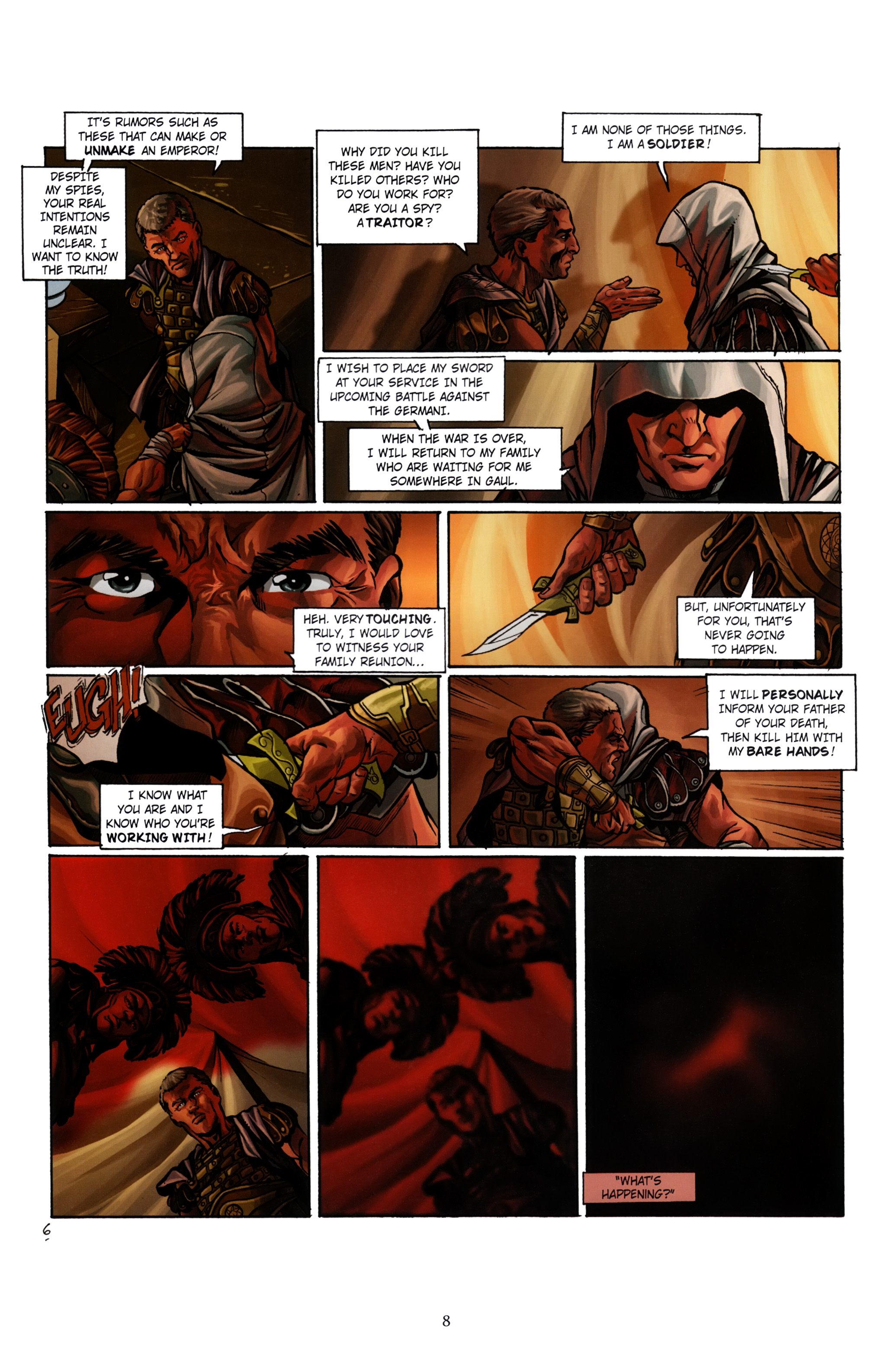 Read online Assassin's Creed (2012) comic -  Issue #1 - 12