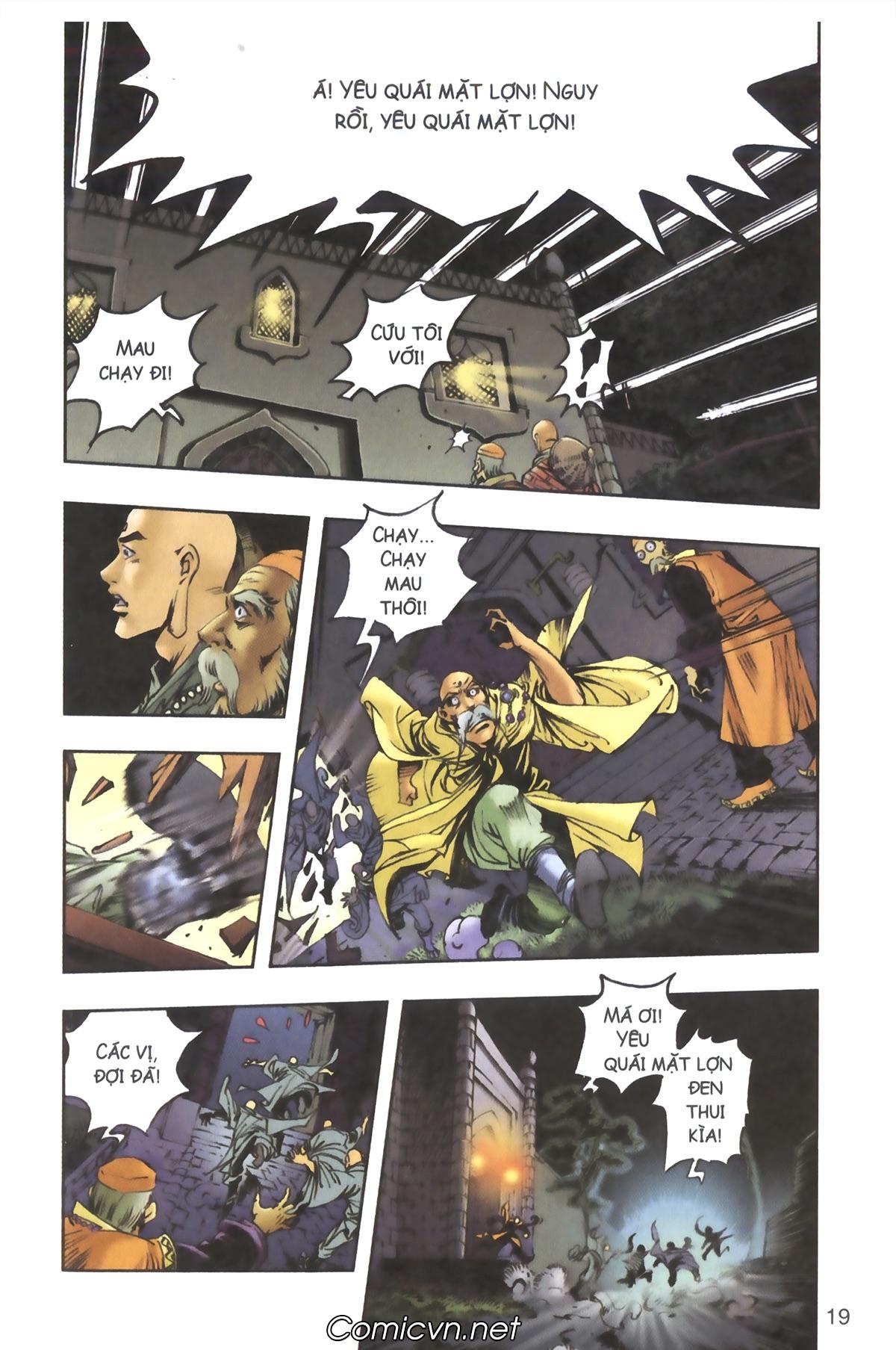 Tây Du Ký màu - Chapter 91 - Pic 19